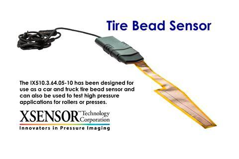 Druckmessung Reifenflanke / Tire-Bead